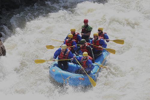 Whitewater Rafting Clear Creek