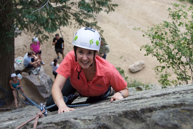 Rock Climbing in Eldorado Canyon State Park
