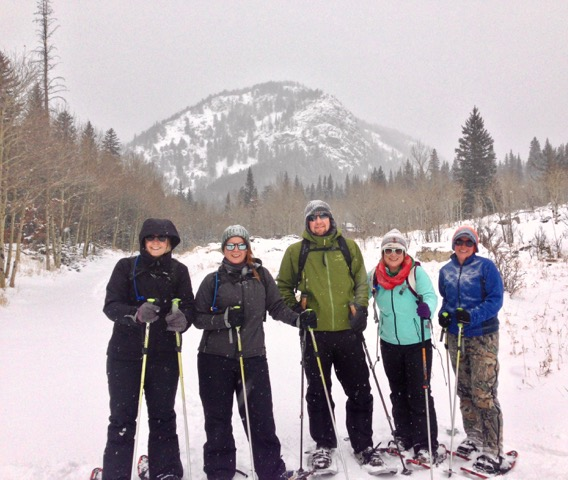 Guided Group Snowshoe Tours Outside Boulder Colorado