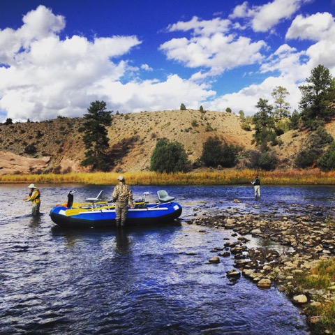Rafting and Fly Fishing Upper Colorado River with Colorado Wilderness Corporate And Teams