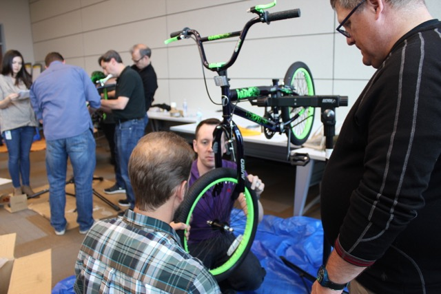 Denver Build A Bike with Colorado Wilderness Corporate And Teams