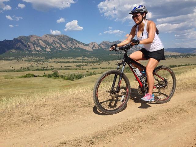 Group Mountain Biking close to Denver Colorado