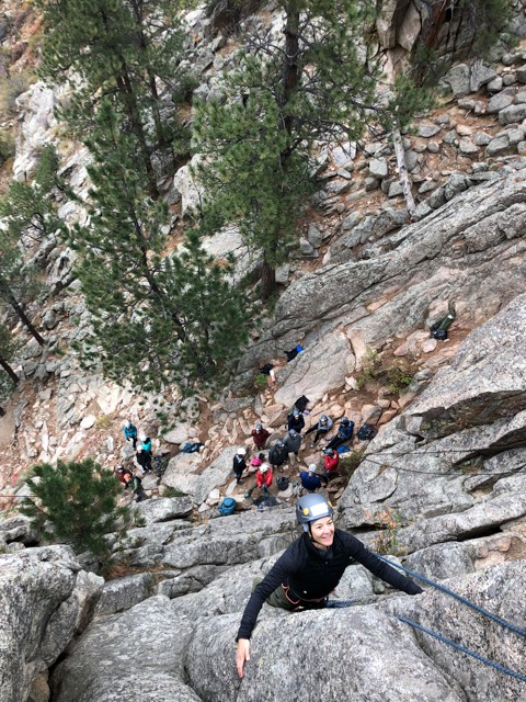 Colorado Group Adventures Rock Climbing